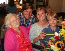 Grandma Horton at Party
